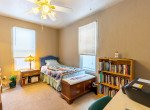 Bedroom with Ceiling Fan - 54 W. South 3rd St Montrose, CO 81401 - Atha Team Real Estate Listing