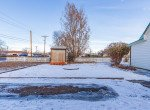 Fenced Back Yard with Shed - 54 W. South 3rd St Montrose, CO 81401 - Atha Team Real Estate Listing