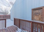 Back Porch to Garage - 54 W. South 3rd St Montrose, CO 81401 - Atha Team Real Estate Listing