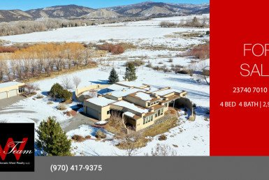 Adobe Home for Sale on 4 Acres - 23740 7010 Rd Montrose CO 81403 - Atha Team Realty