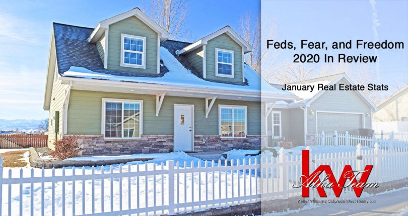 Feds, Fear, and Freedom – 2020 in Review – January Real Estate Stats