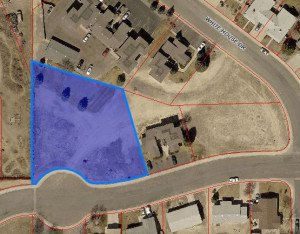 GIS Aerial View Lot for Sale Lot 1 Cirque Way Montrose, CO 81401 - Atha Team Real Estate