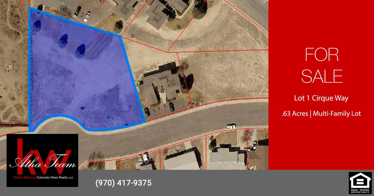 Montrose Multi-Family Lot for Sale Lot 1 Cirque Way Montrose, CO 81401 - Atha Team Real Estate