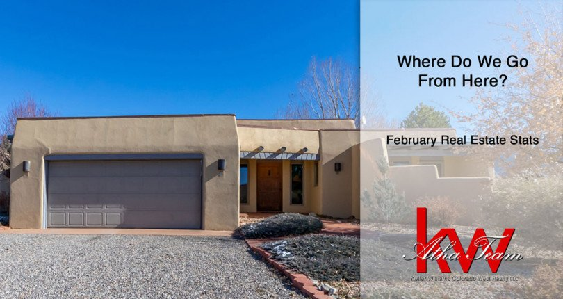 Where Do We Go From Here? – February Real Estate Stats