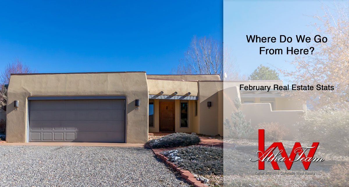 Where Do We Go From Here - February Real Estate Stats by the Atha Team