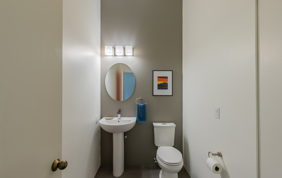 Powder Room - 1690 Solar Ct Montrose, CO 81401 - Atha Team Residential Real Estate