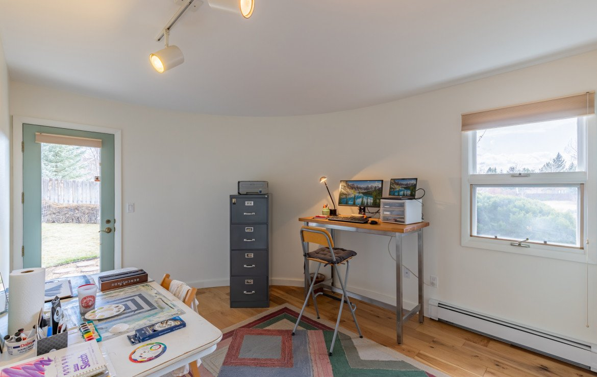 Bedroom or Office with Hardwood Floors - 1690 Solar Ct Montrose, CO 81401 - Atha Team Residential Real Estate