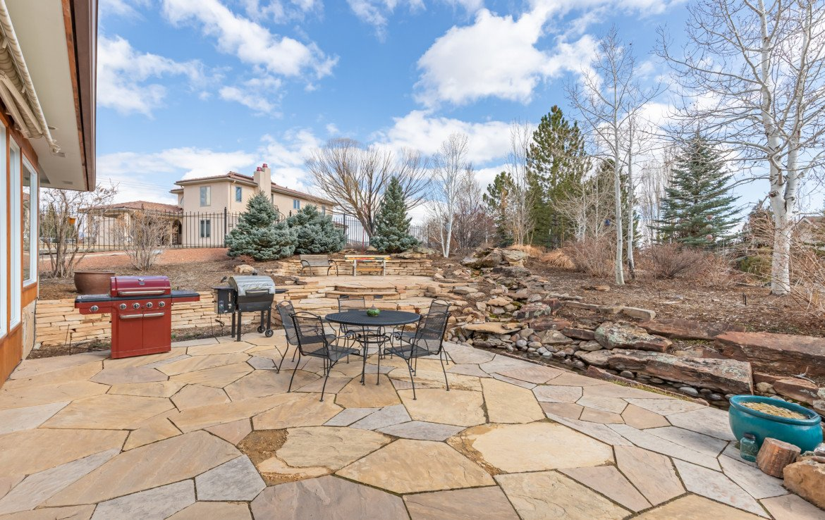 Large Flagstone Patio - 1690 Solar Ct Montrose, CO 81401 - Atha Team Residential Real Estate