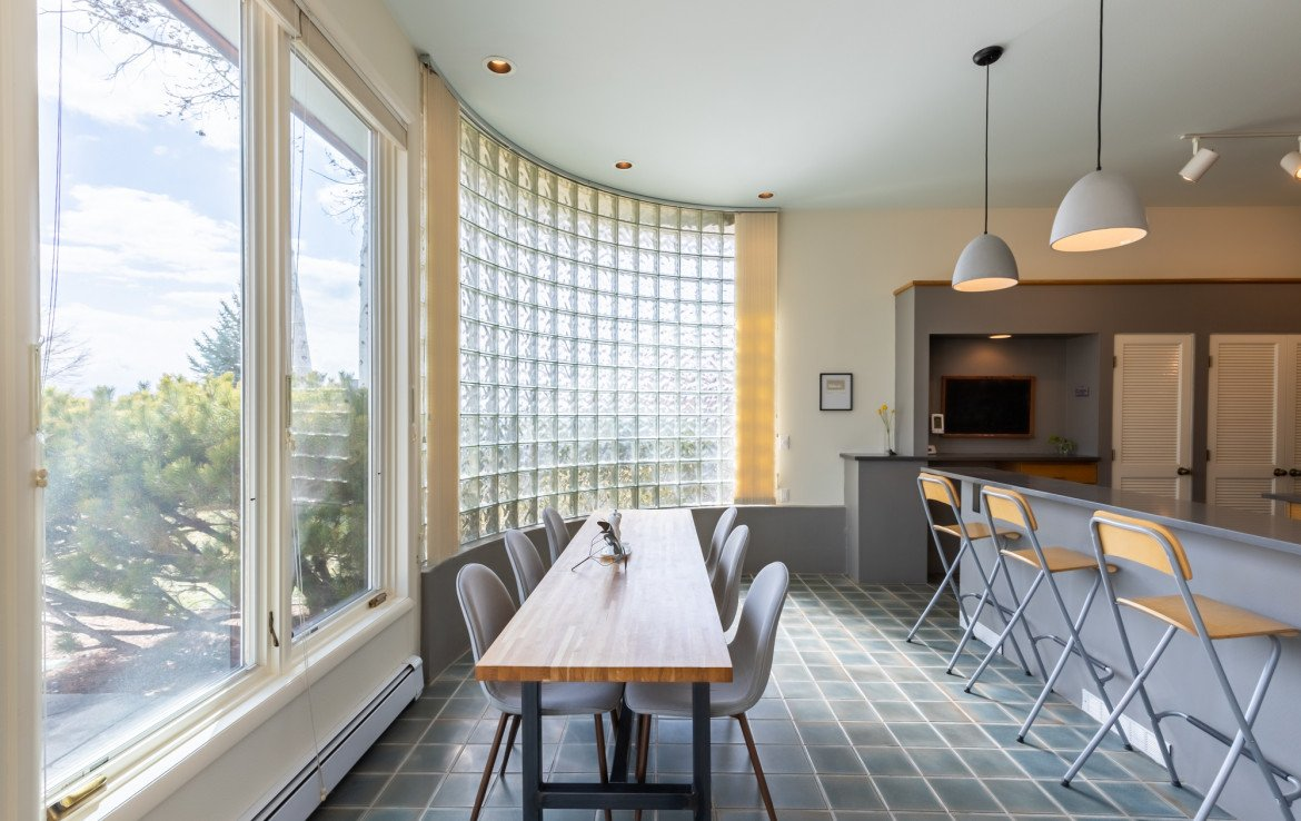 Dining Room with Tile Flooring - 1690 Solar Ct Montrose, CO 81401 - Atha Team Residential Real Estate