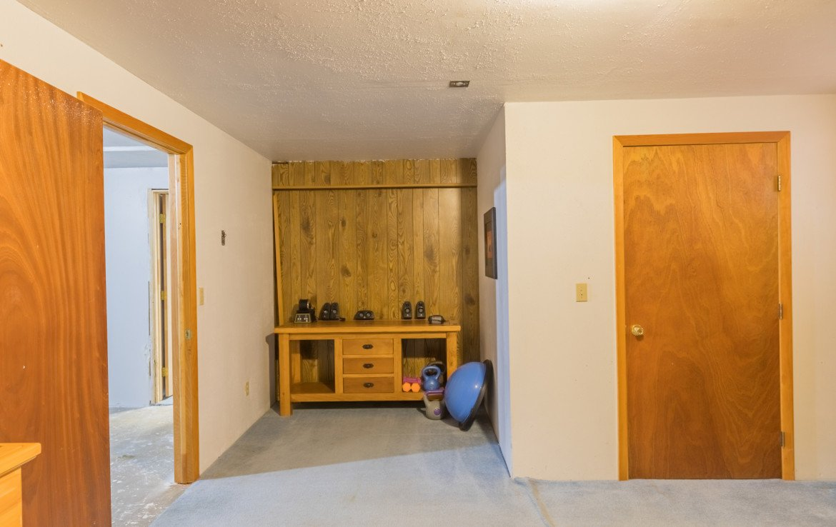 Basement Bedroom Storage Area - 1639 6422 Rd Montrose, CO - Atha Team Real Estate Listing