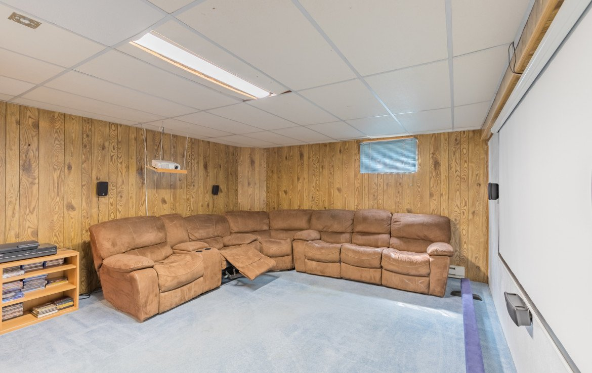 Basement Family Room - 1639 6422 Rd Montrose, CO - Atha Team Real Estate Listing