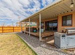 Back Porch with Seating Area - 1639 6422 Rd Montrose, CO - Atha Team Real Estate Listing