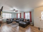 Living Room with Ceiling Fan - 1639 6422 Rd Montrose, CO - Atha Team Real Estate Listing