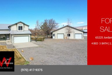 Country Home and Acreage for Sale - 63225 Jordan Ct Montrose, CO 81401 - Atha Team Agricultural Real Estate