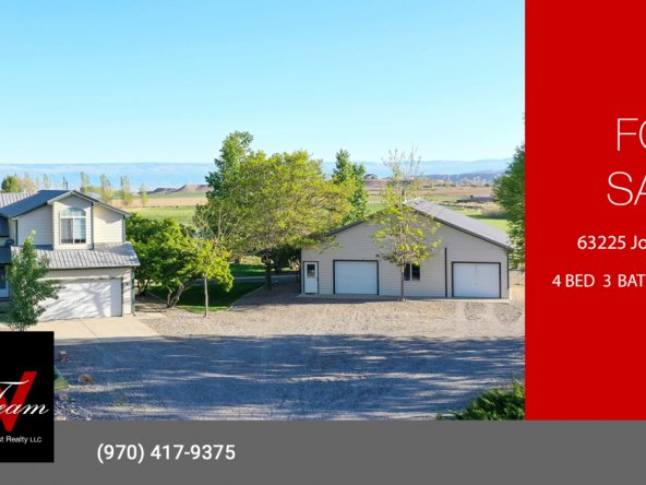 Country House and Acreage for Sale - 63225 Jordan Ct Montrose, CO 81401 - Atha Team Agricultural Real Estate