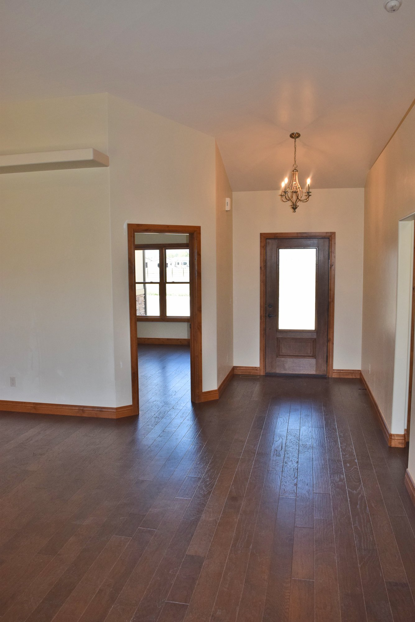 Entry Way with Hardwood Flooring - Lot-1935-Sleeping-Bear-Rd - Atha Team Residential Real Estate