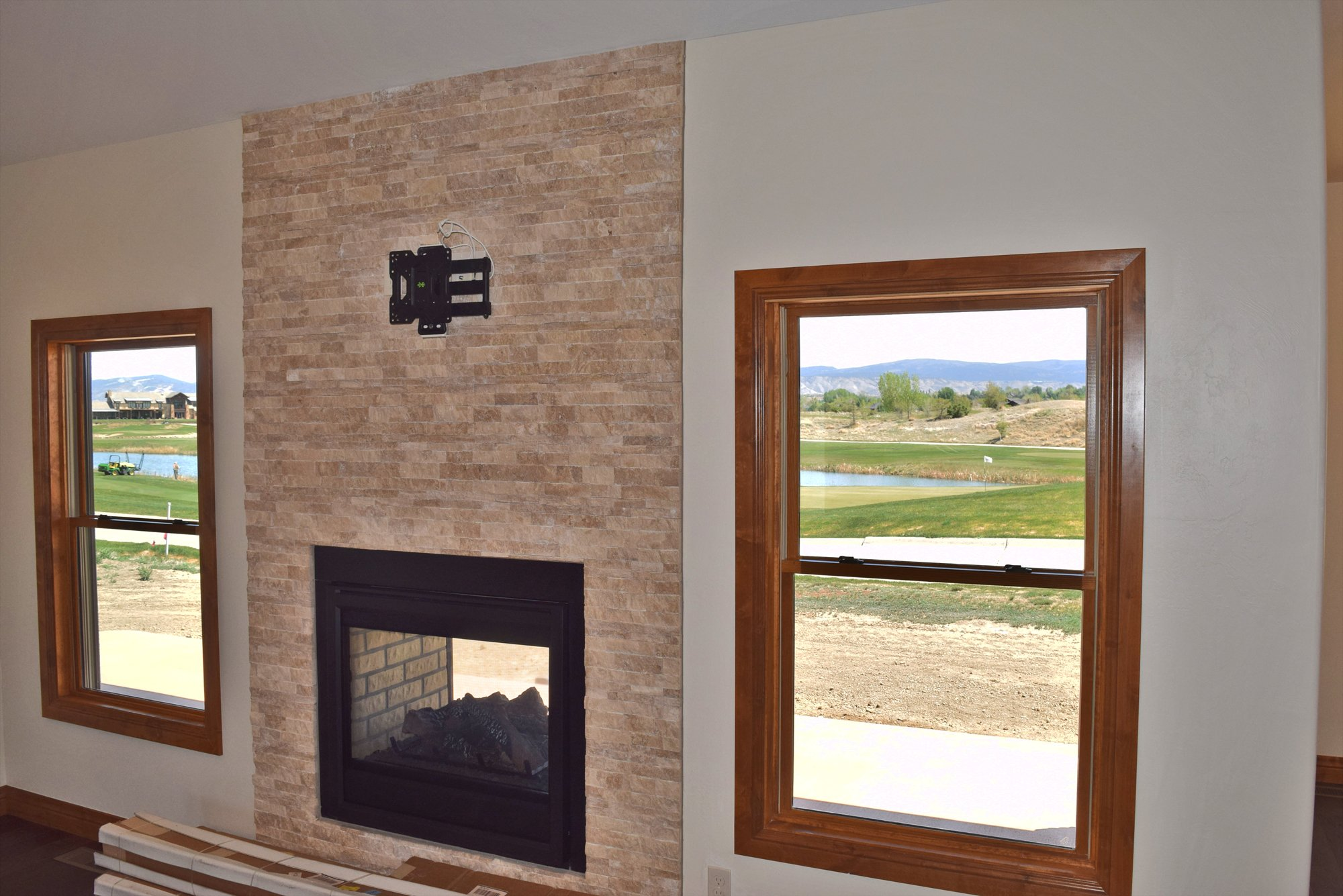 Pass Through Fire Place - Lot-1935-Sleeping-Bear-Rd - Atha Team Residential Real Estate