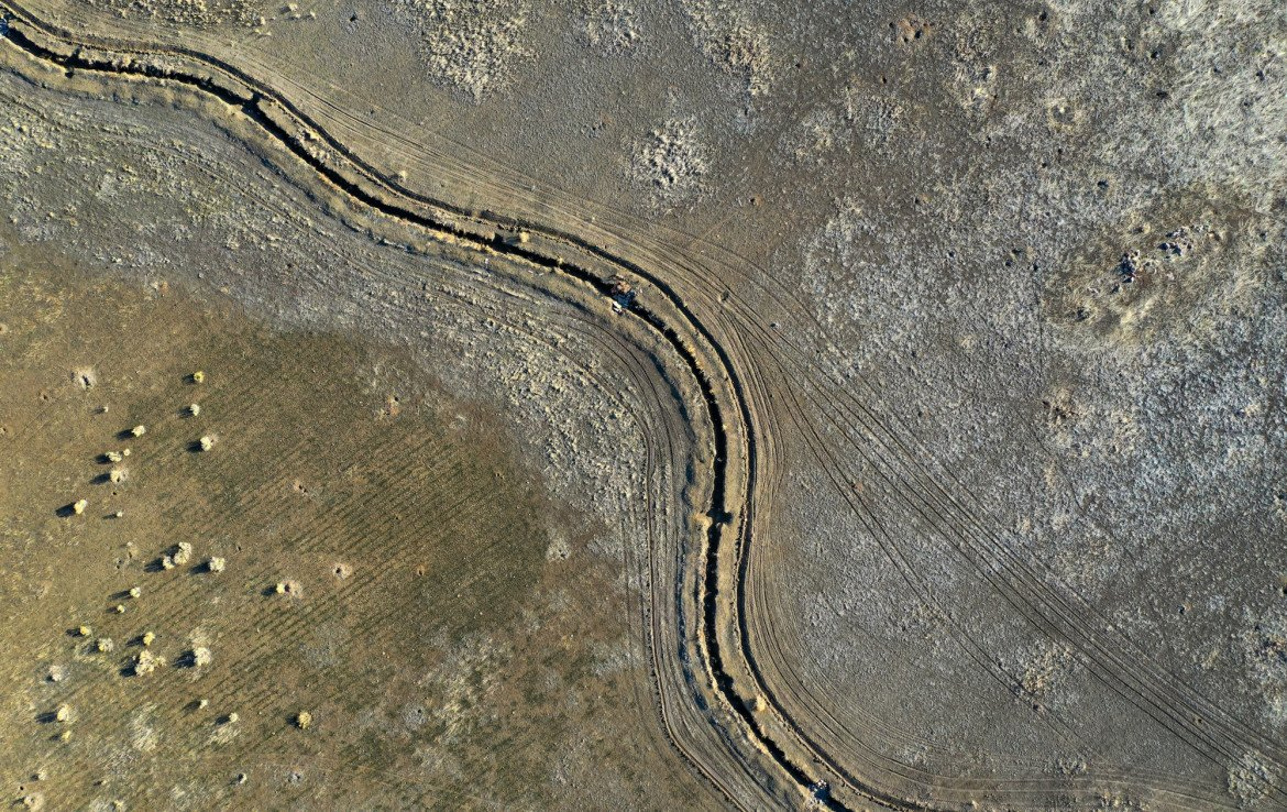 Aerial View of Scotty's Draw - TBD Buckhorn Rd Montrose, CO 81403 - Atha Team Real Estate Agents