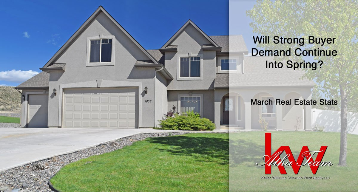 Will Strong Buyer Demand Continue Into Spring? – March Real Estate Stats