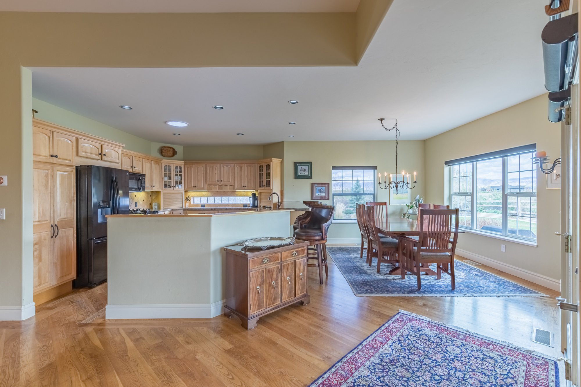 Kitchen and Dining Room - 640 Badger Court Montrose, CO 81403 - Atha Team Real Estate Agents