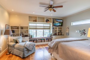 Master Bedroom with Built-Ins - 640 Badger Court Montrose, CO 81403 - Atha Team Real Estate Agents