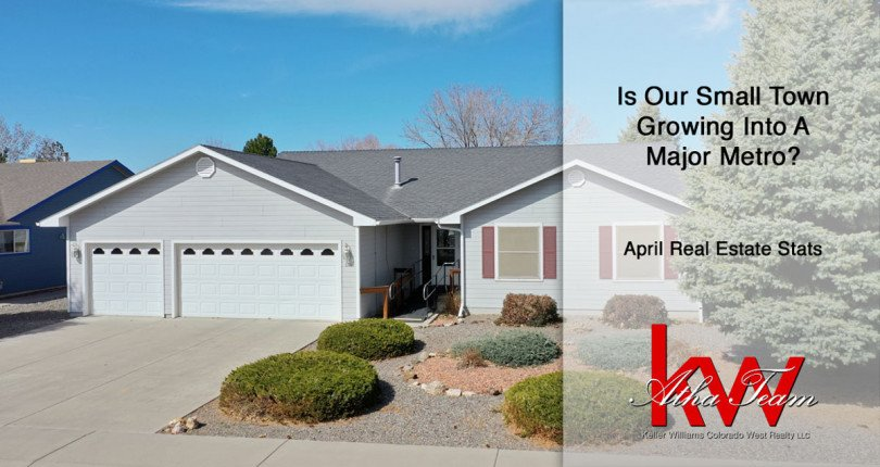 Is Our Small Town Growing Into a Major Metro? – April Real Estate Stats