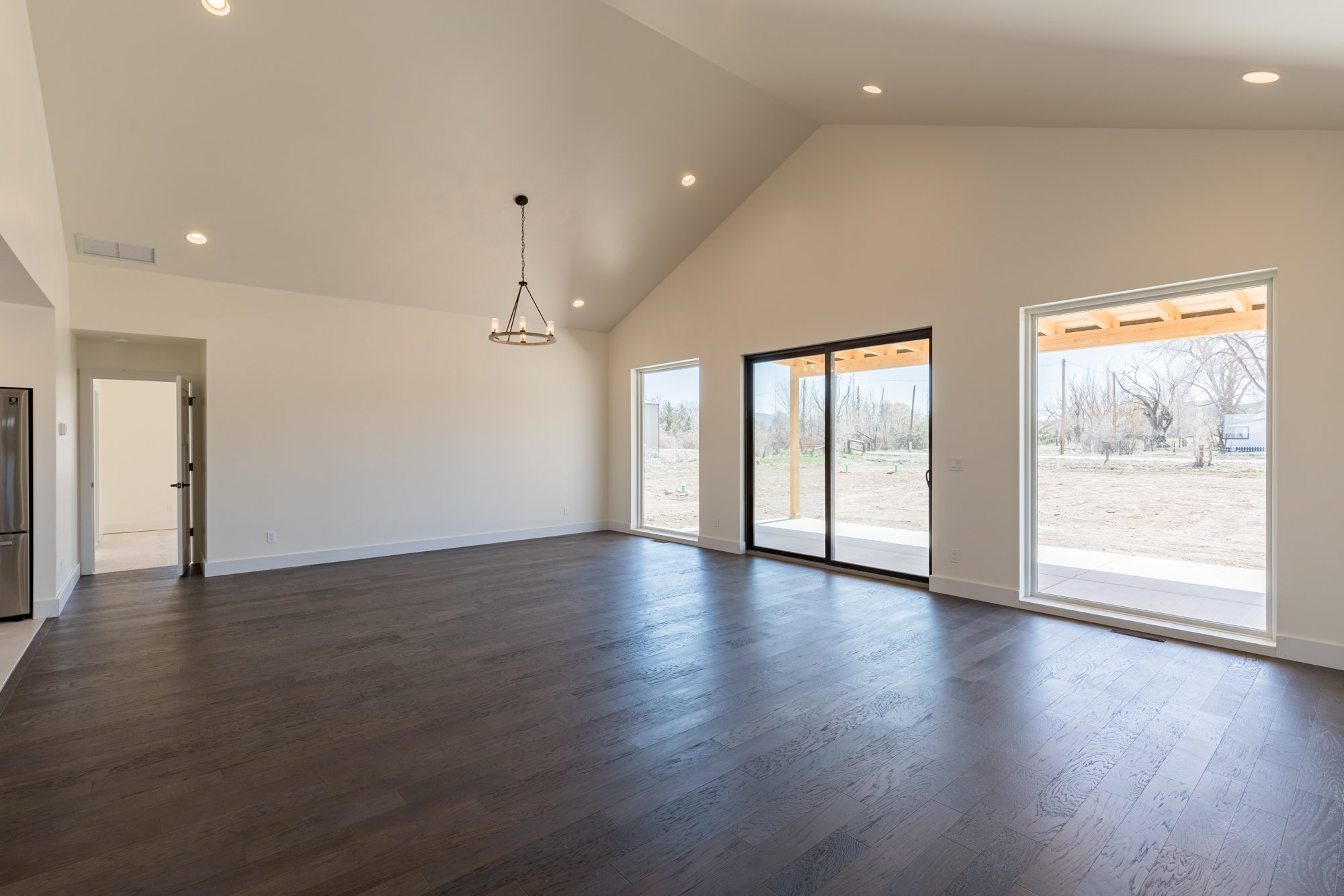 Living Room with Vaulted Ceiling - TBD Highway 550 Montrose, CO 81403 - Atha Team New Construction Real Estate