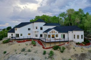 Home with Stone and Stucco Siding - 16955 Wildwood Dr. Montrose, CO 81403 - Atha Team Luxury Real Estate