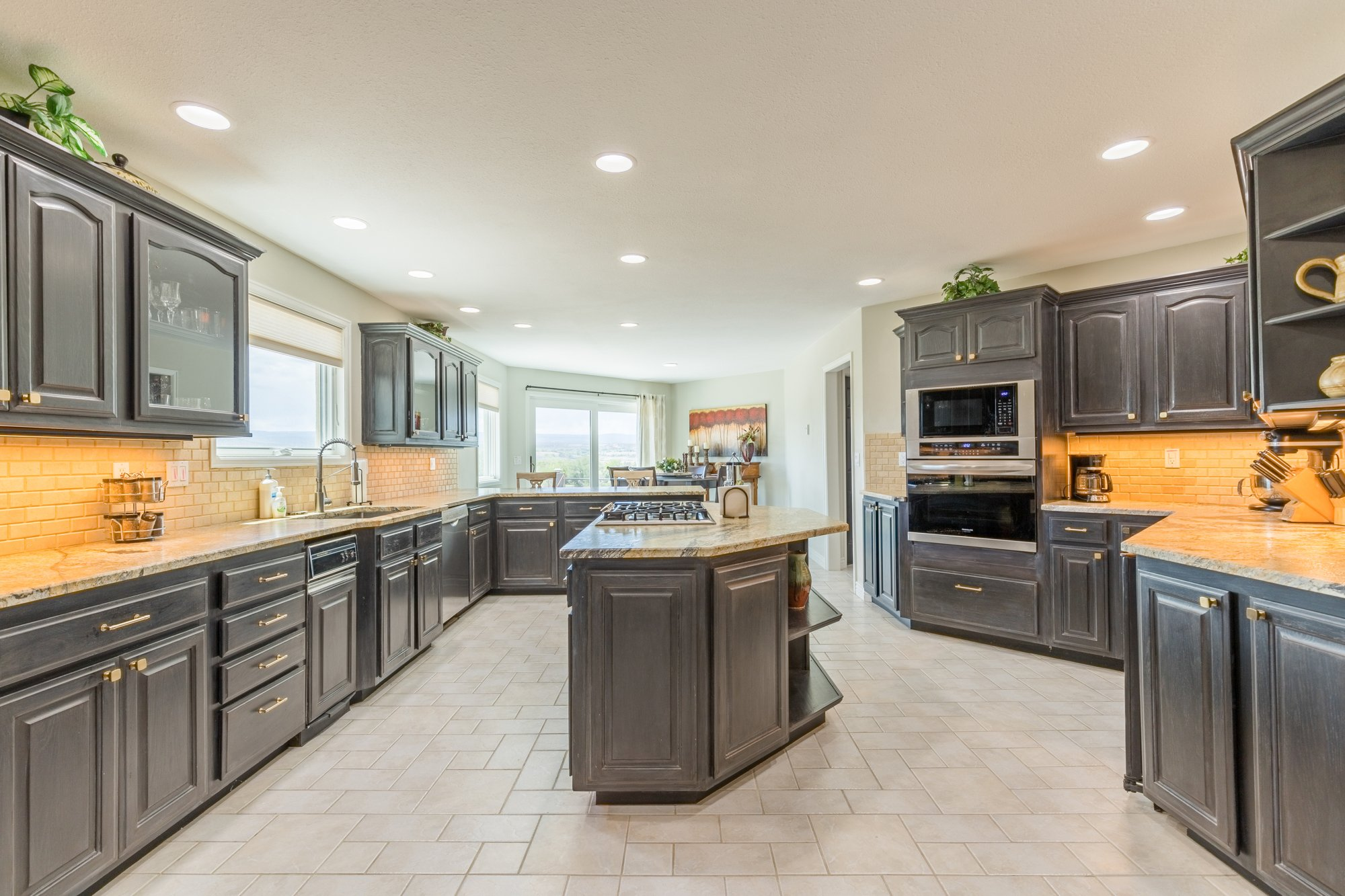 Remodeled Kitchen - 16955 Wildwood Dr. Montrose, CO 81403 - Atha Team Luxury Real Estate