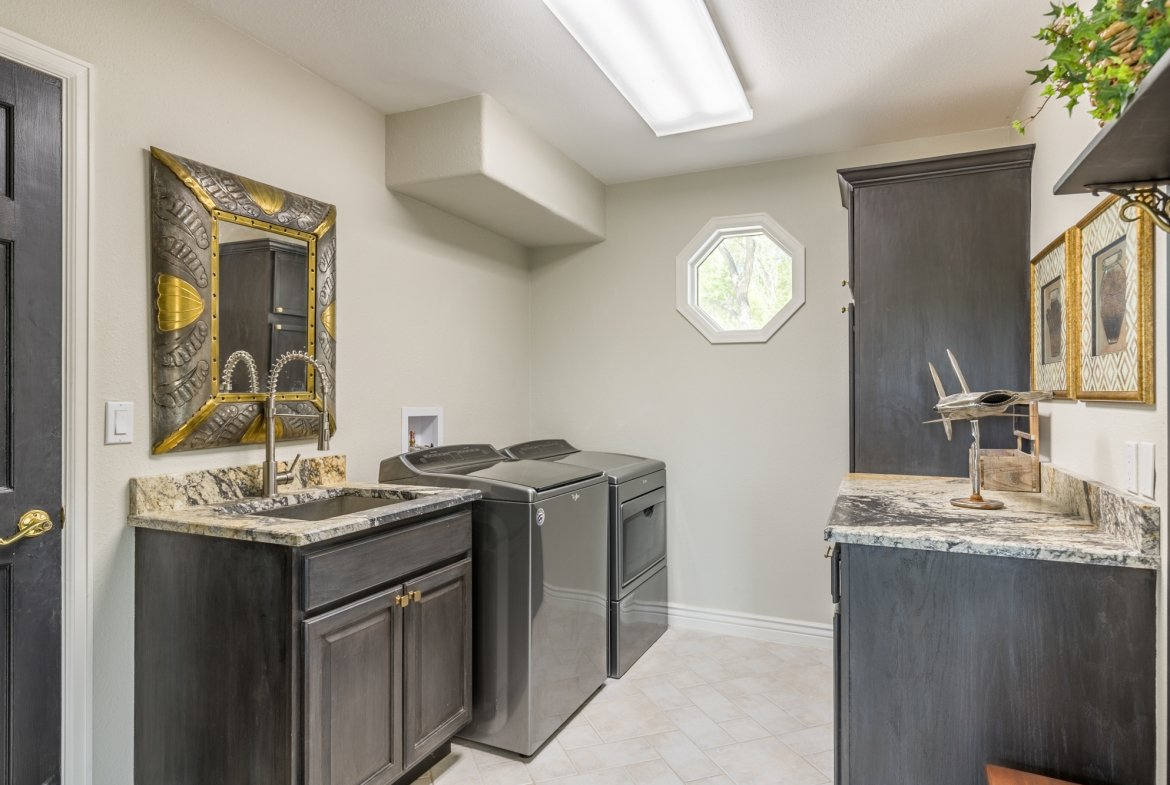 Laundry Room - 16955 Wildwood Dr. Montrose, CO 81403 - Atha Team Luxury Real Estate