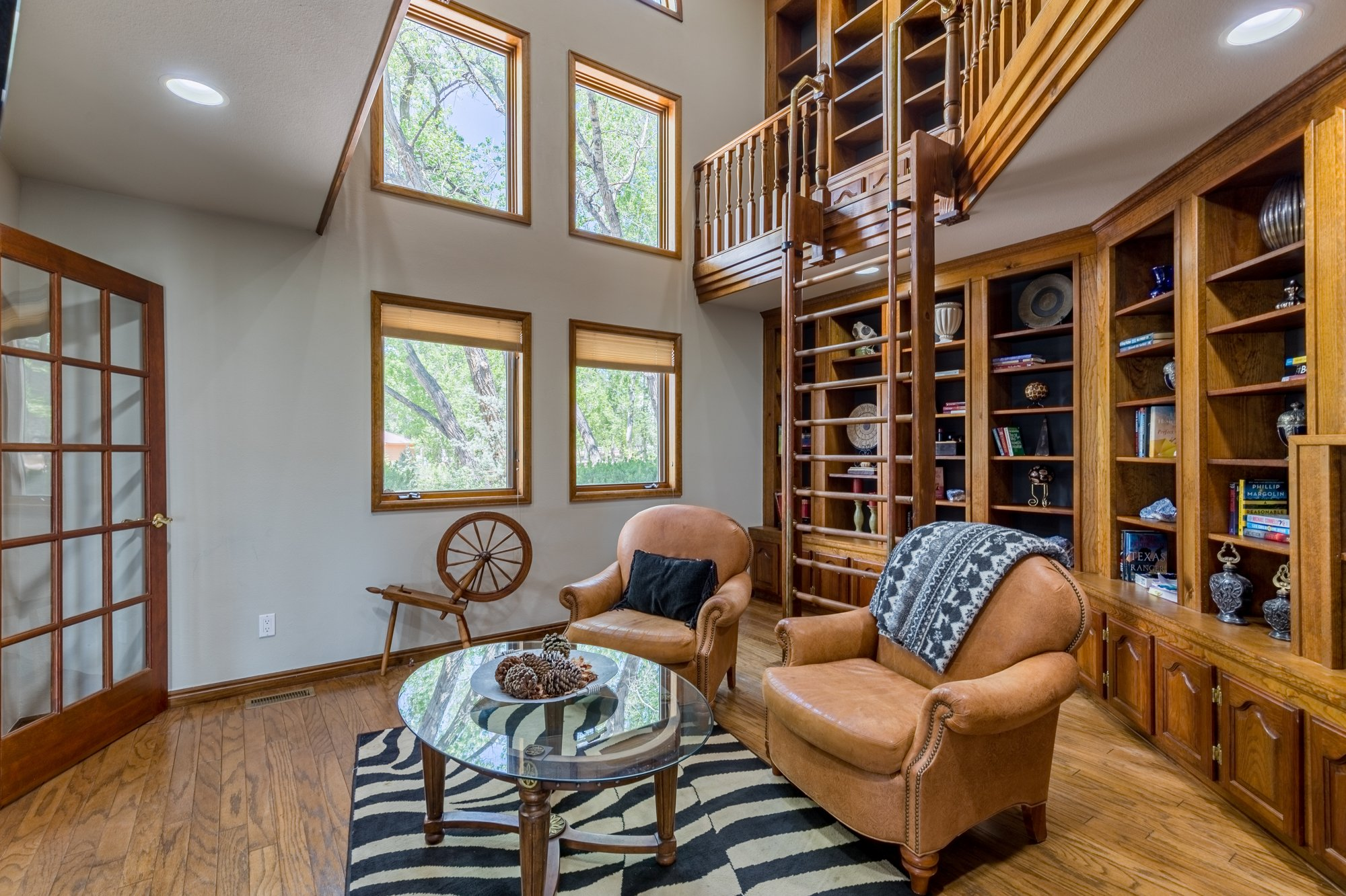 2 Story Library - 16955 Wildwood Dr. Montrose, CO 81403 - Atha Team Luxury Real Estate