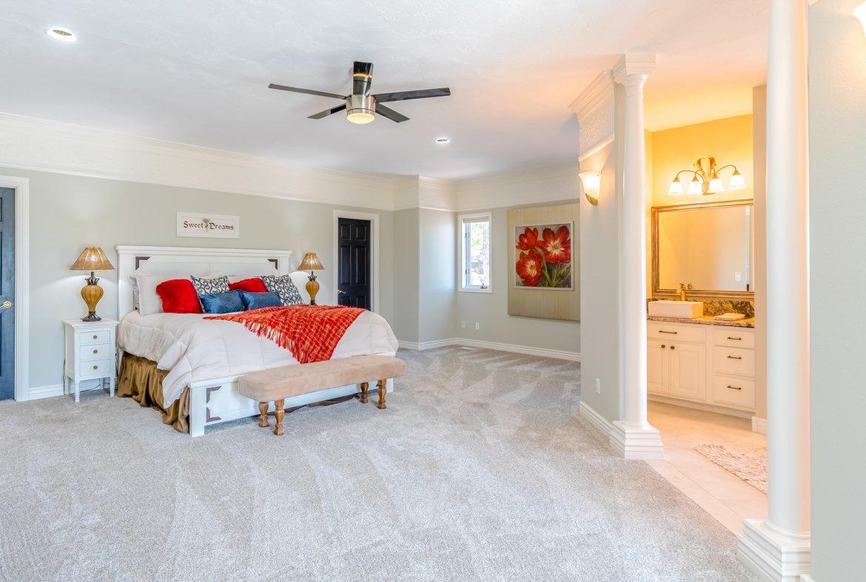 Master Bedroom - 16955 Wildwood Dr. Montrose, CO 81403 - Atha Team Luxury Real Estate