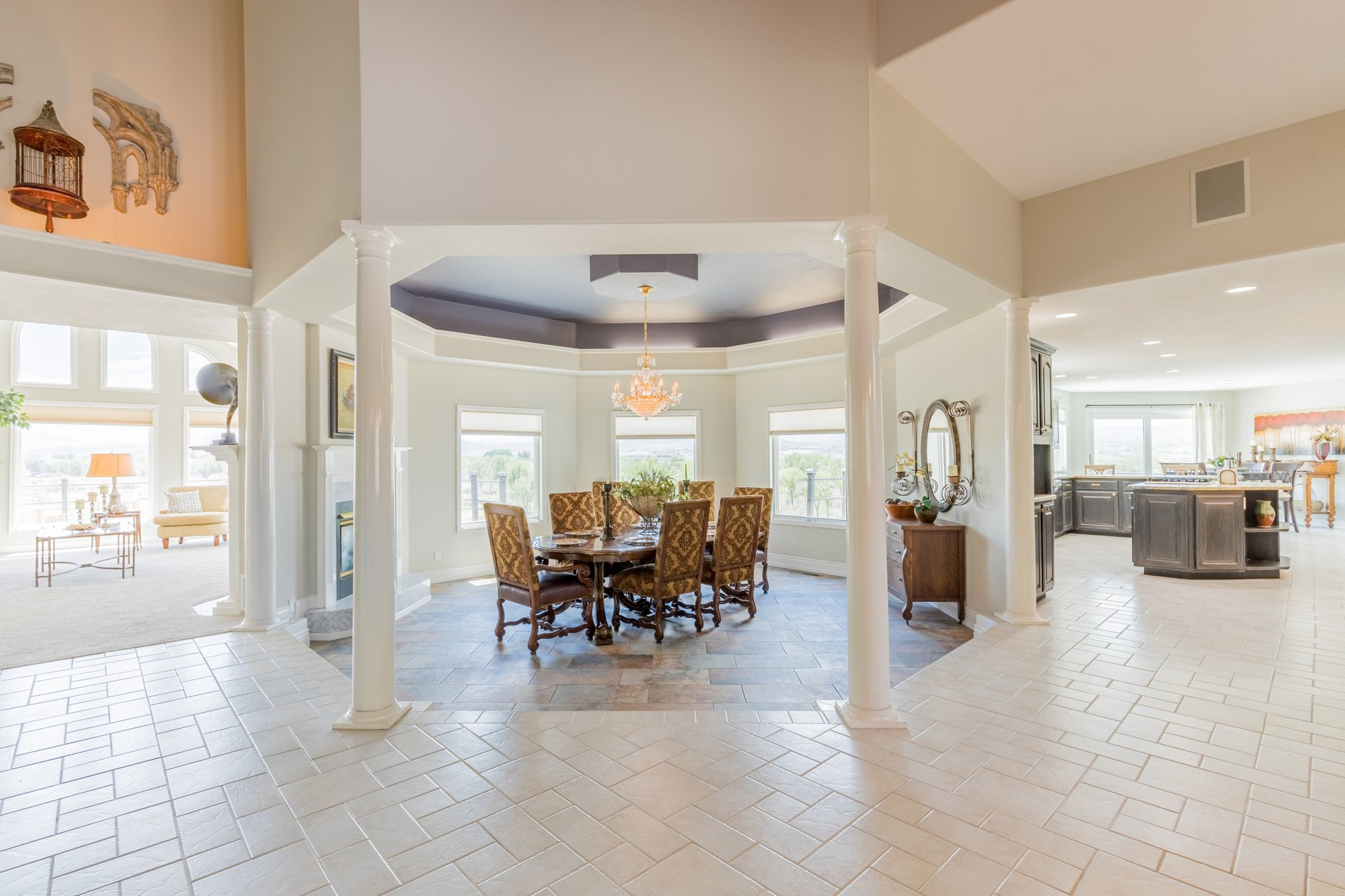 Separate Dining Room - 16955 Wildwood Dr. Montrose, CO 81403 - Atha Team Luxury Real Estate