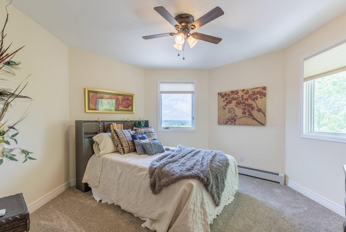 Bedroom with Carpet - 16955 Wildwood Dr. Montrose, CO 81403 - Atha Team Luxury Real Estate
