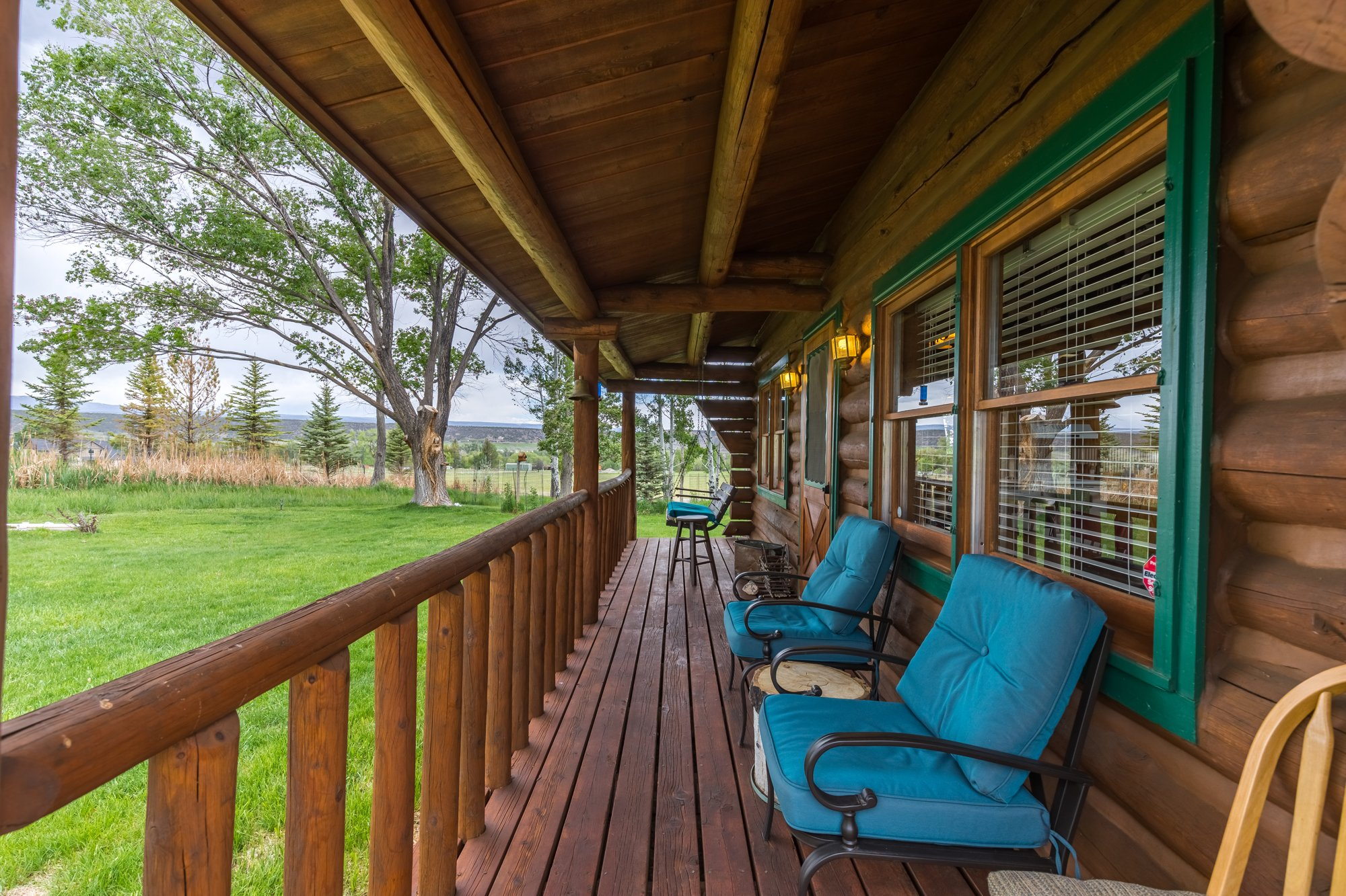 Covered Porch - 21770 Uncompahgre Rd Montrose, CO 81403 - Atha Team Country Real Estate