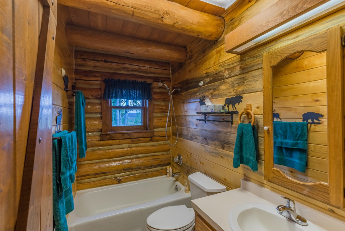 Downstairs Bathroom - 21770 Uncompahgre Rd Montrose, CO 81403 - Atha Team Country Real Estate