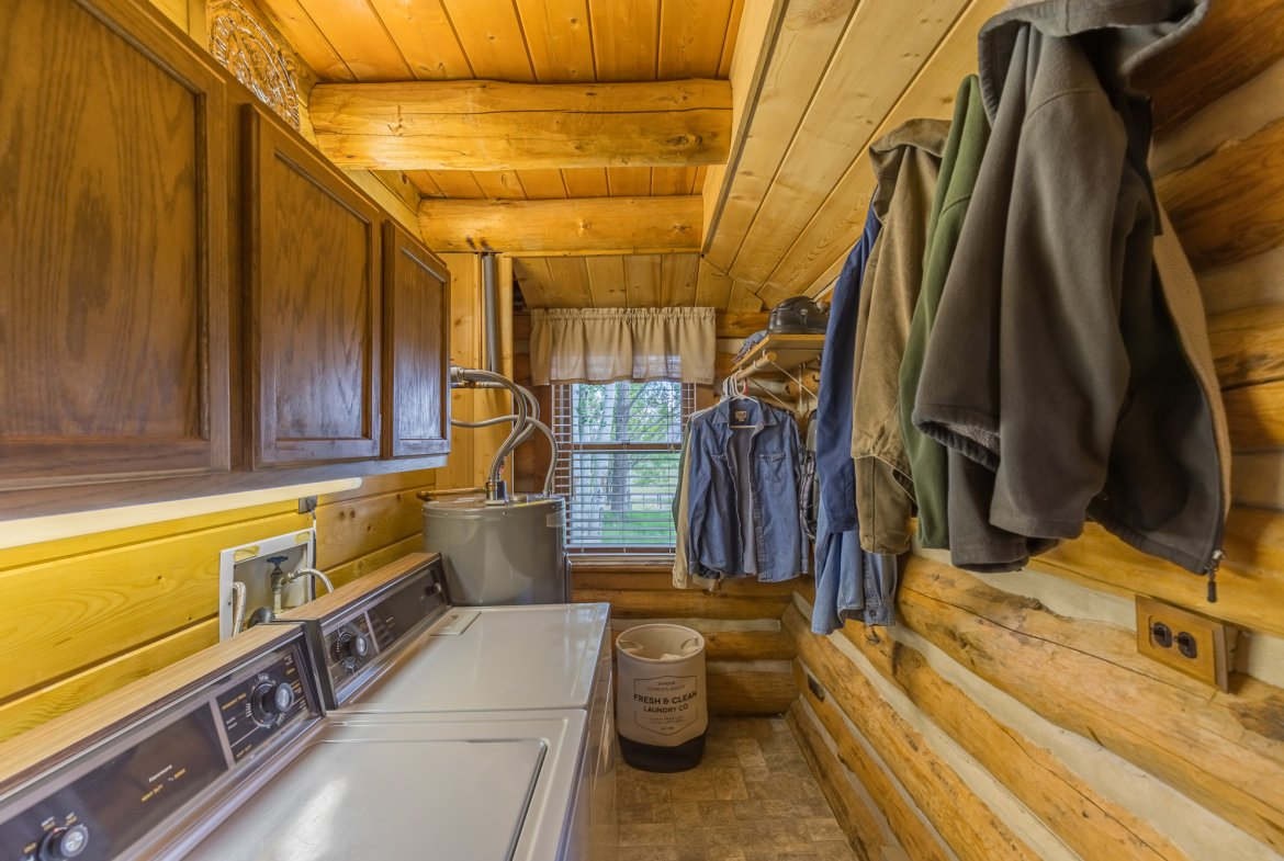 Downstairs Laundry Room - 21770 Uncompahgre Rd Montrose, CO 81403 - Atha Team Country Real Estate