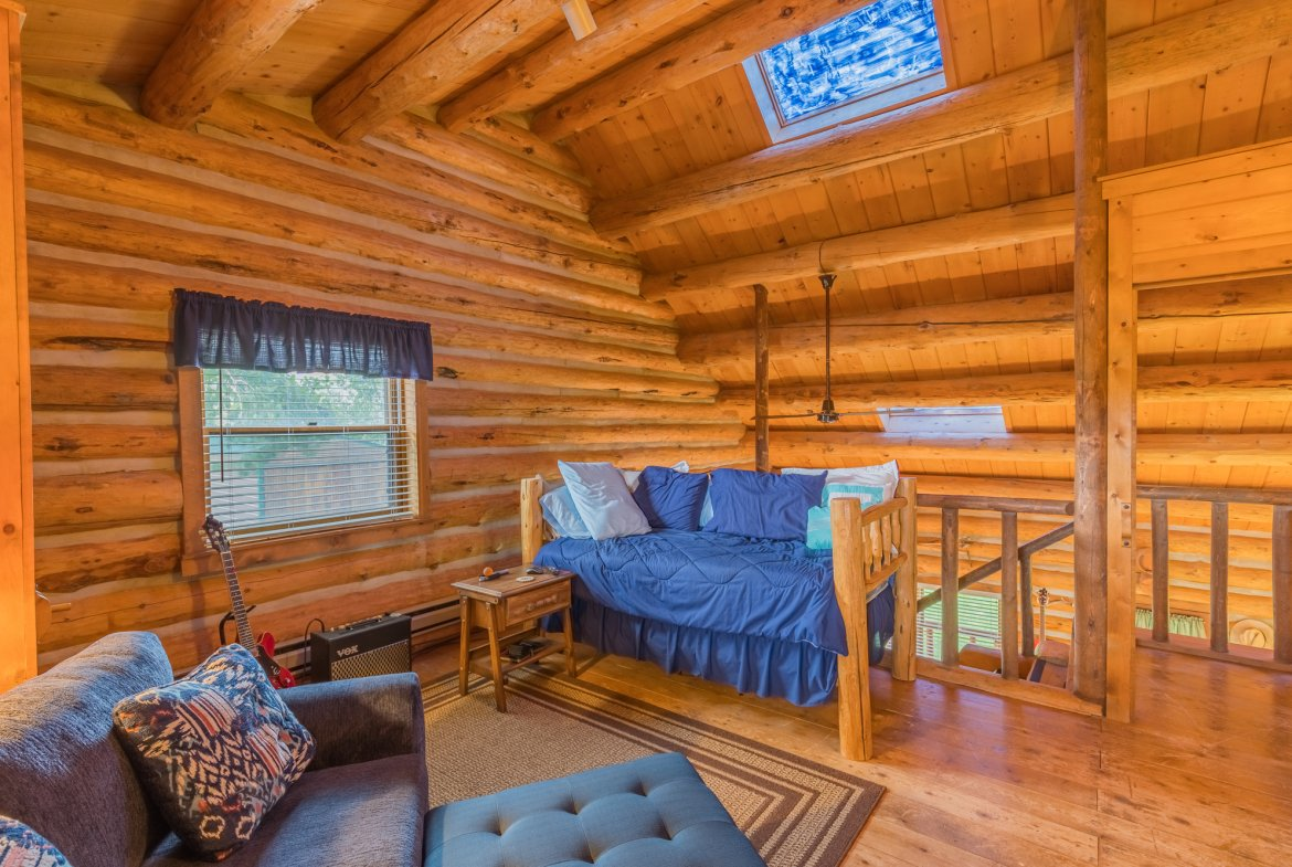 Upstairs Room with Skylights - 21770 Uncompahgre Rd Montrose, CO 81403 - Atha Team Country Real Estate
