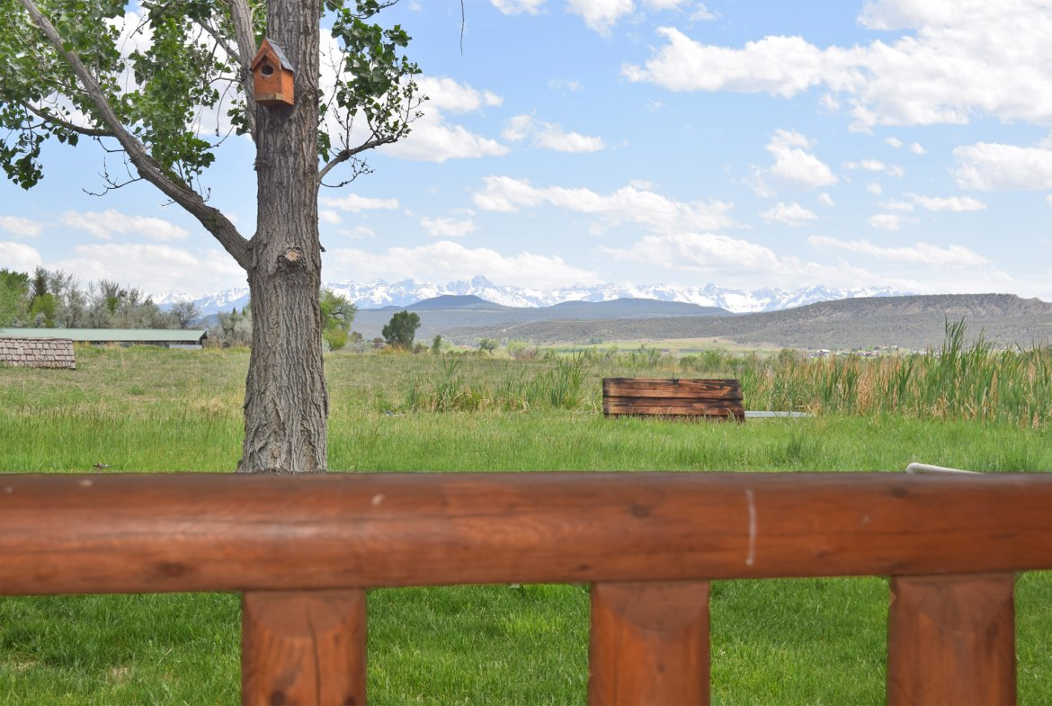 Mountain Views from the Porch - 21770 Uncompahgre Rd Montrose, CO 81403 - Atha Team Country Real Estate