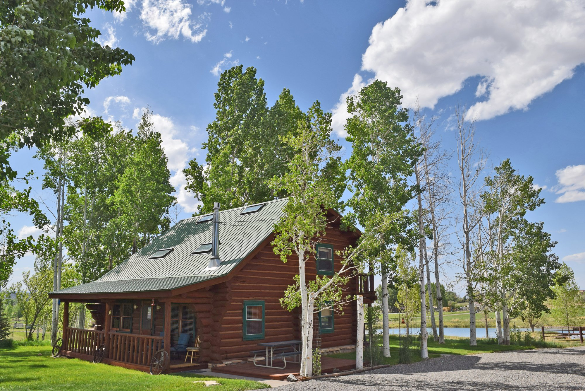 Mature Trees around Home- 21770 Uncompahgre Rd Montrose, CO 81403 - Atha Team Country Real Estate