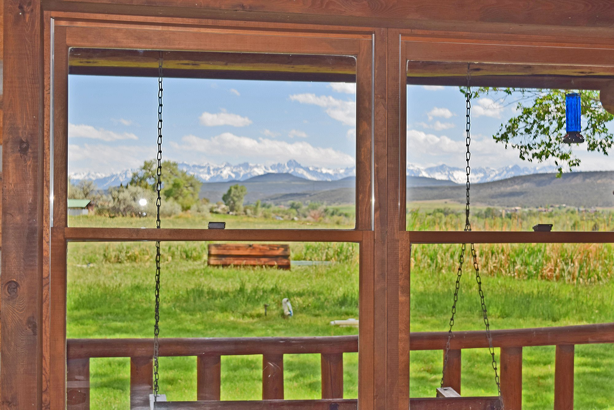 Southern Views from the Deck - 21770 Uncompahgre Rd Montrose, CO 81403 - Atha Team Country Real Estate
