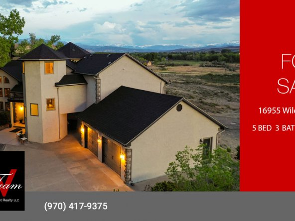 Majestic Colorado Home for Sale - 16955 Wildwood Dr Montrose, CO 81403 - Atha Team Luxury Real Estate
