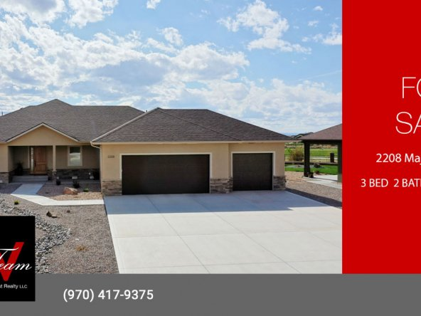 Newer Home for Sale on the Golf Course - No HOA - 2208 Majestic Cir, Montrose, CO 81401 - Atha Team Luxury Real Estate