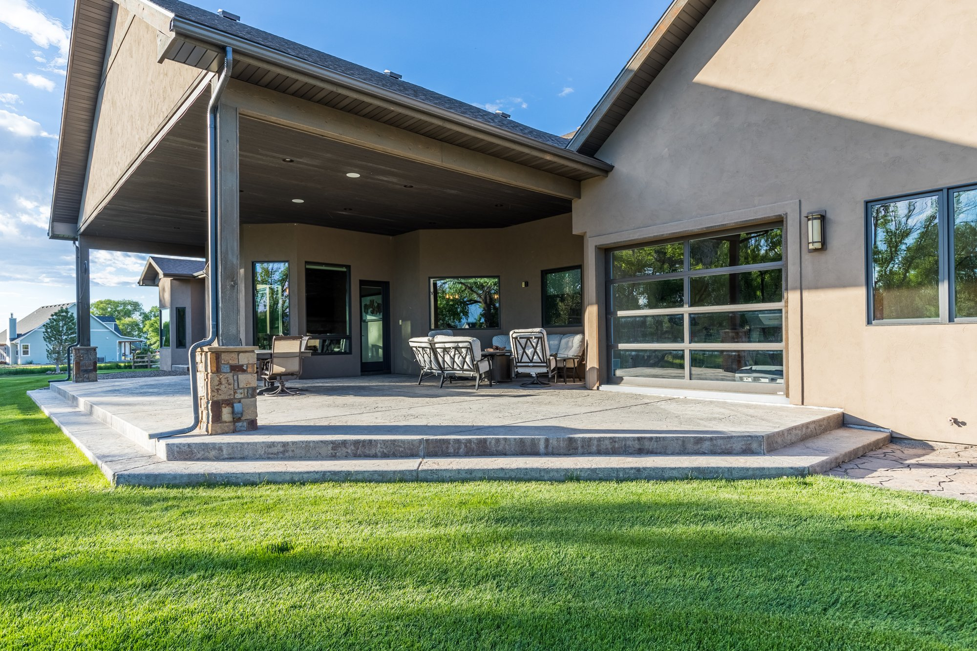 Covered Patio with Steps - 15067 6140 Ln Montrose, CO 81403 - Atha Team Luxury Real Estate