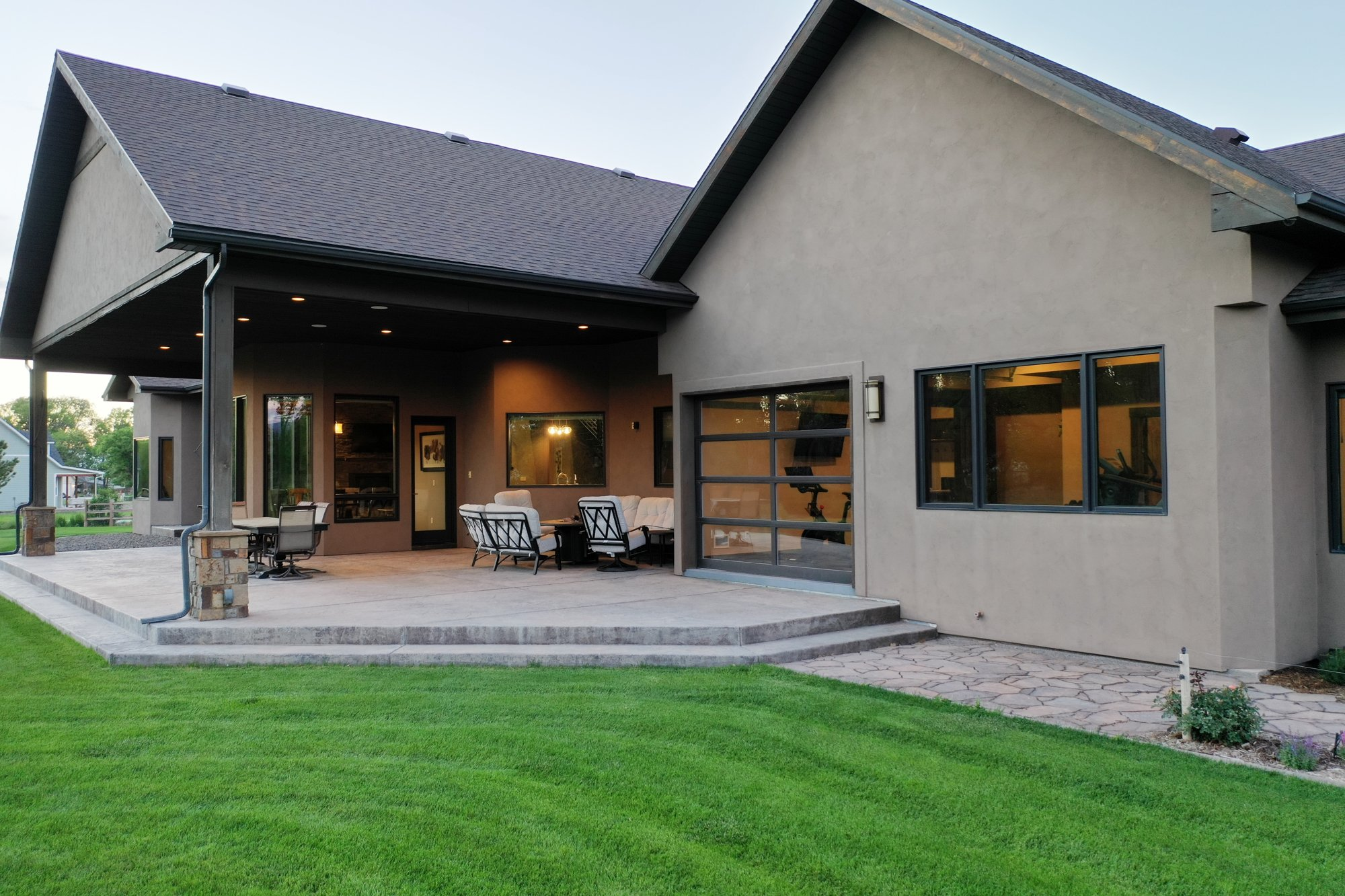Back Patio Seating - 15067 6140 Ln Montrose, CO 81403 - Atha Team Luxury Real Estate