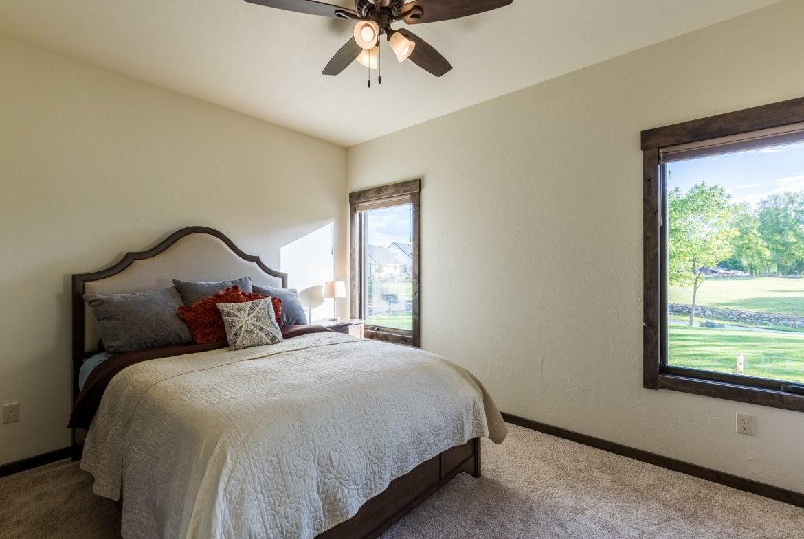 Guest Suite Bedroom - 15067 6140 Ln Montrose, CO 81403 - Atha Team Luxury Real Estate