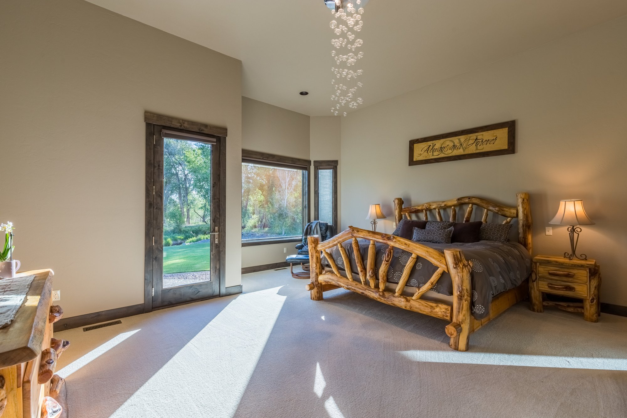Bedroom with Patio Access - 15067 6140 Ln Montrose, CO 81403 - Atha Team Luxury Real Estate