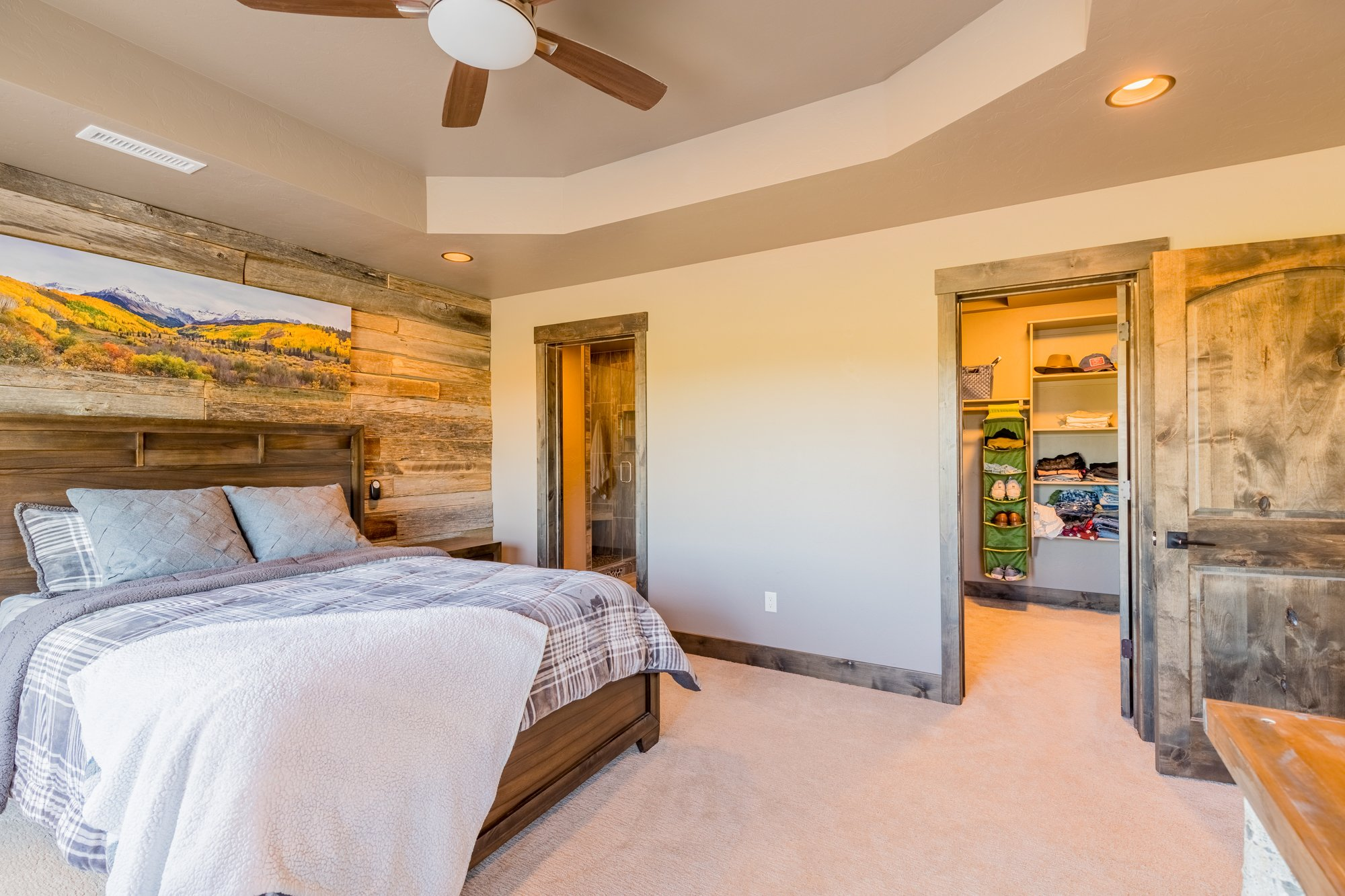 Bedroom with Carpet - 15067 6140 Ln Montrose, CO 81403 - Atha Team Luxury Real Estate