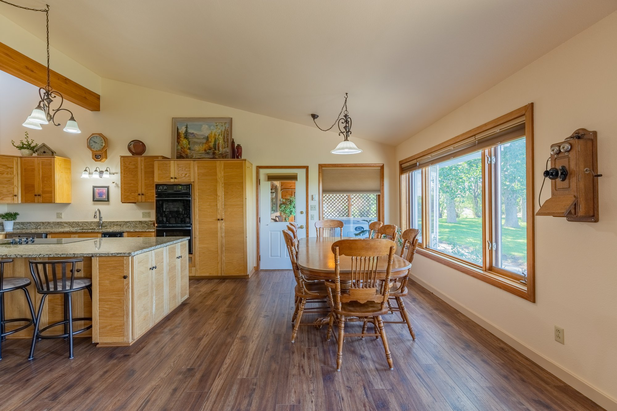 Kitchen Dining Area - 17777 6650 Rd Montrose, CO 81403 - Atha Team Country Real Estate