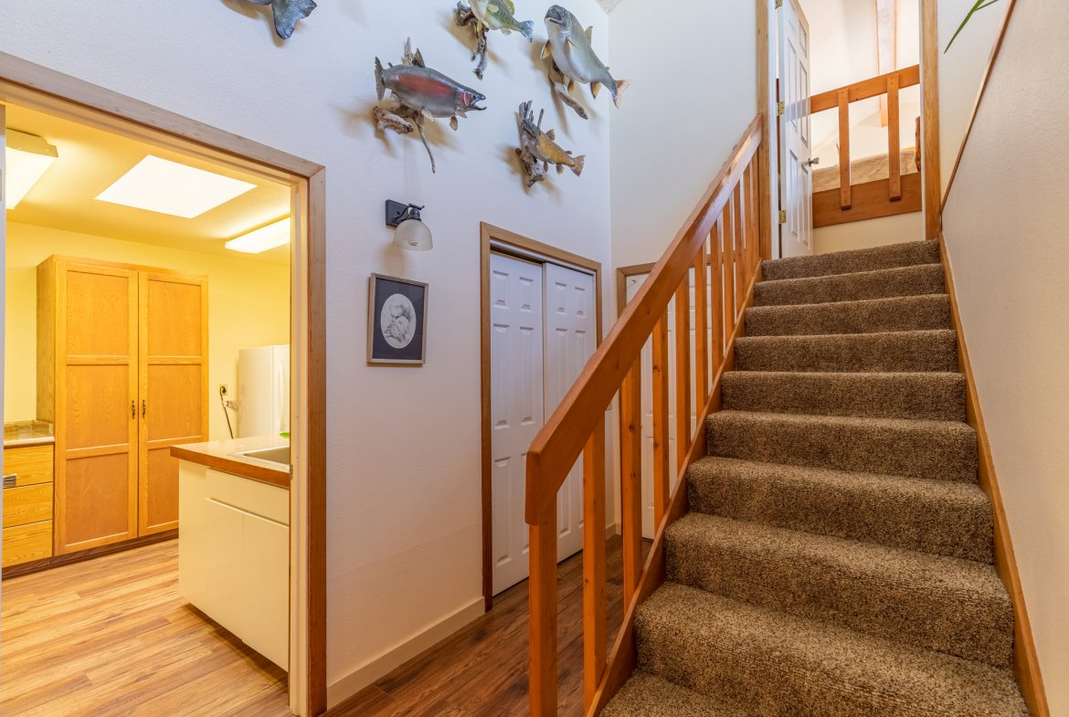 Laundry Room and Upstairs Access - 17777 6650 Rd Montrose, CO 81403 - Atha Team Country Real Estate